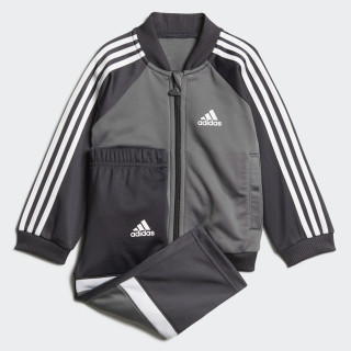 Glanzend Trainingspak Grey Four / Carbon / White DJ1580
