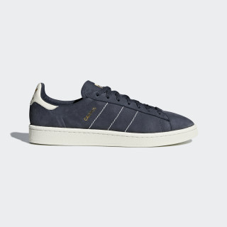 Tênis Campus TRACE BLUE F17/CHALK WHITE/GOLD MET. CQ2047
