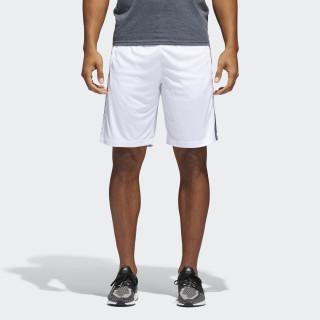 D2M 3-Stripes Shorts White / Black BR1459