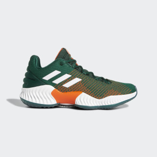 Pro Bounce 2018 Low Shoes Dark Green / Cloud White / Orange B41867