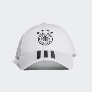 Gorra Selección de Alemania 3 Rayas 2018 WHITE/BLACK CF4928