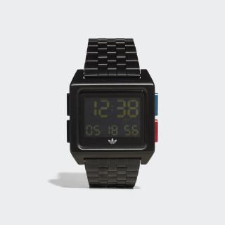 ARCHIVE_M1 Watch Black / Lush Blue / Lush Red CK3105