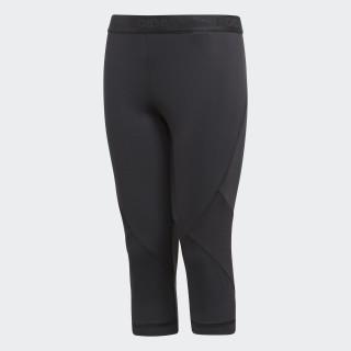 Alphaskin Sport 3/4 CLIMACOOL Legging Black CF7210