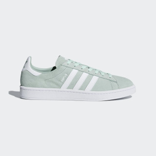 Campus Shoes Ash Green / Cloud White / Cloud White DB0982