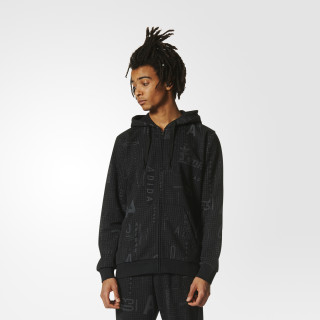 Sudadera French Terry Subtle Print BLACK BS4831