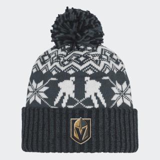 Golden Knights Ugly Sweater Cuffed Pom Beanie Multi CY4123