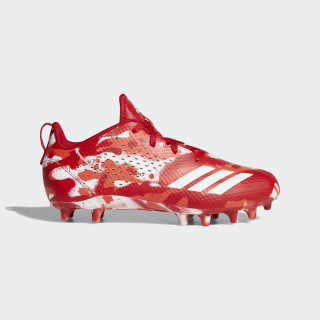 adizero 5-Star 7.0 Cleats Cloud White / Hi-Res Red / Scarlet B37169