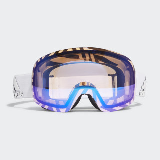 Backland Spherical Goggles White / White / Shock Blue CK7135