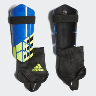 X Club Shin Guards Football Blue / Black / Solar Yellow CW9722