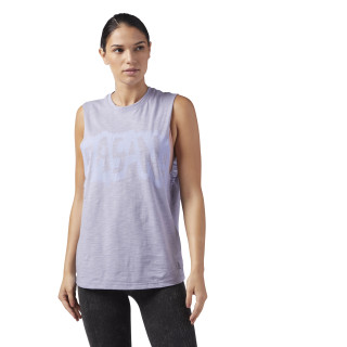 Organic Cotton Muscle Tank Purple Fog CF8705