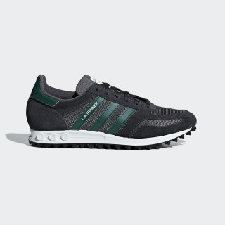 LA Trainer Schuh Carbon / Collegiate Green / Grey Five B37830