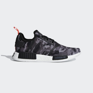 NMD_R1 Shoes Grey / Grey / Solar Red G27913
