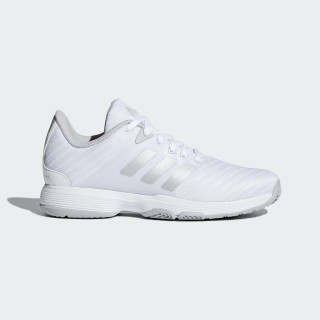 Barricade Court Shoes Ftwr White/Matte Silver/Grey Two DB1746