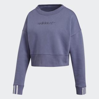 Coeeze Cropped Sweatshirt Raw Indigo DU7181
