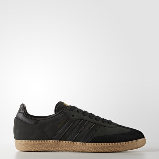 Samba OG Shoes Core Black / Core Black / Gold Metallic BZ0063