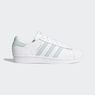 Superstar Shoes Cloud White / Ash Green / Silver Metallic B41509