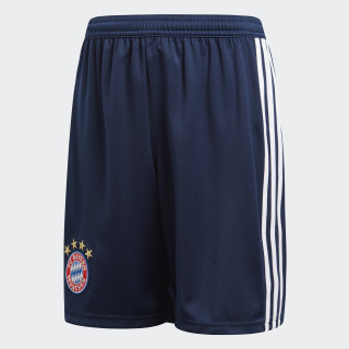 Short FC Bayern Local Niño 2018 COLLEGIATE NAVY/WHITE CF5417