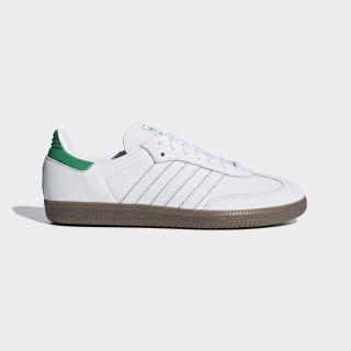 Samba OG sko Ftwr White / Green / Gum5 D96783