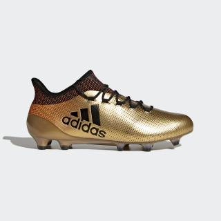 X 17.1 FG Fußballschuh Tactile Gold Met./Core Black/Solar Red BB6353