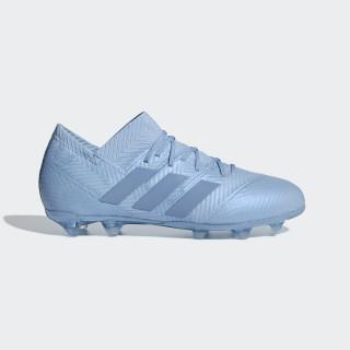 Nemeziz Messi 18.1 Firm Ground Voetbalschoenen Ash Blue / Ash Blue / Gold Met. DB2362
