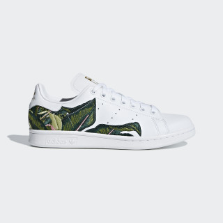 Chaussure Stan Smith Ftwr White / Ftwr White / Gold Met. B28012