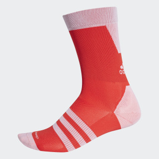 sock.hop.13 Socks 1 Pair Hi-Res Red/White CW1783