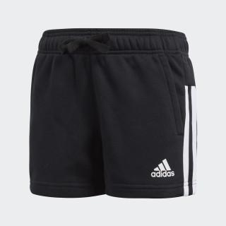 Essentials 3-Streifen Mid Shorts Black/White/White BP8636