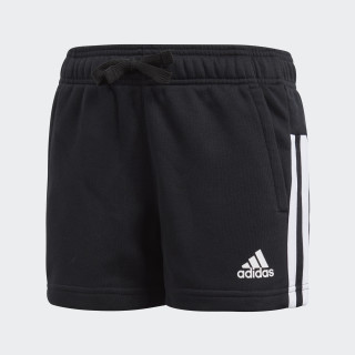 Essentials 3-Stripes Mid Shorts Black/White/White BP8636
