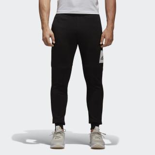 Essentials Box Logo Pants Black / White B47210