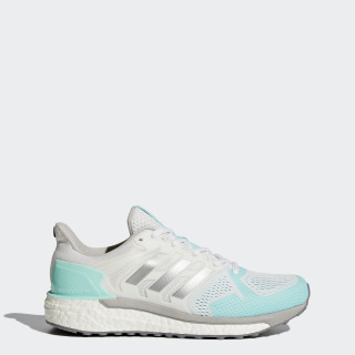 Supernova ST Shoes Footwear White/Silver Metallic/Energy Aqua BB3507
