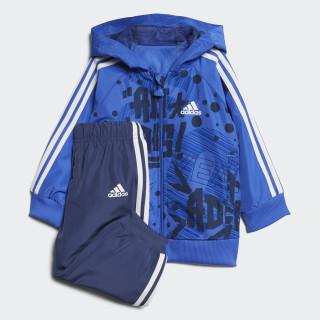 Conjunto Jogger Favorites HI-RES BLUE S18/COLLEGIATE ROYAL/COLLEGIATE NAVY/WHITE NOBLE INDIGO S18/WHITE/HI-RES BLUE S18 CF7398