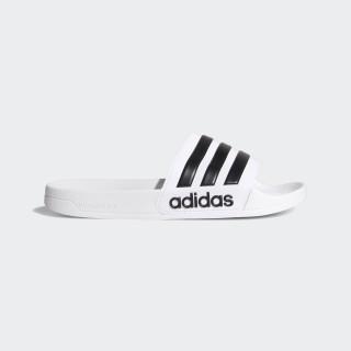 Adilette Cloudfoam sandaler Ftwr White / Core Black / Ftwr White AQ1702