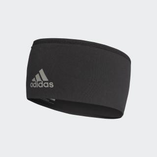 Wide Stirnband Black/Black/Reflective Silver BR0805