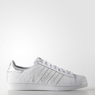 Superstar Shoes Cloud White / Cloud White / Silver Metallic S80341