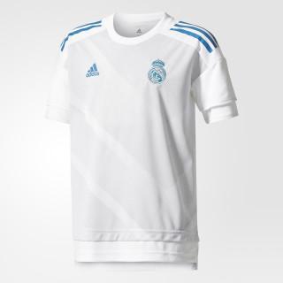 Jersey prepartido REAL Madrid Local Junior WHITE/HALO BLUE S16 CD9699