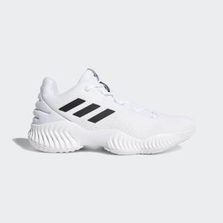 Pro Bounce 2018 Low Skor Ftwr White / Core Black / Crystal White BB7410