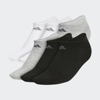 Superlite No-Show Socks 6 Pairs Multicolor CK0643