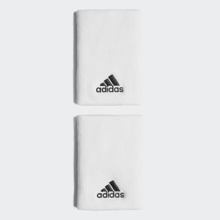 Tennis Schweißband, L White/Black CF6277