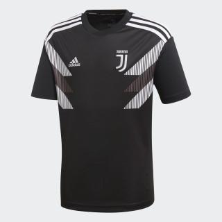 Juventus Home opvarmningstrøje Black / White CW5822