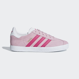 Gazelle Shoes Clear Pink / Real Magenta / Ftwr White B41517