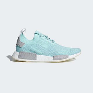 NMD_R1 Primeknit Shoes Energy Aqua / Grey Two / Ftwr White B43523
