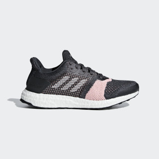 Ultraboost ST Shoes Carbon / Cloud White / Grey B75864