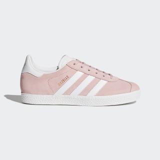 Zapatilla Gazelle Icey Pink/Ftwr White/Gold Metallic BY9544