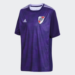 Camiseta de Visitante Club Atlético River Plate Niño DARK PURPLE/POWER PURPLE/GLOW PURPLE/WHITE CF8956
