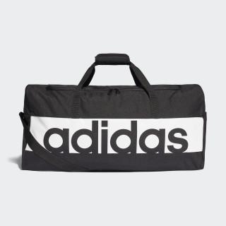 Linear Performance Duffel Bag Large Black/Black/White S99964