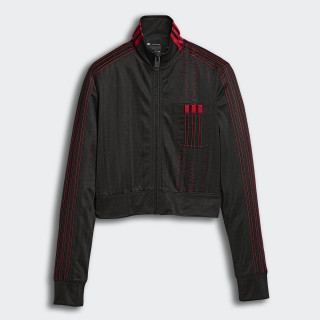 Jaqueta Aw Crop Tt BLACK/CORE RED DM9685