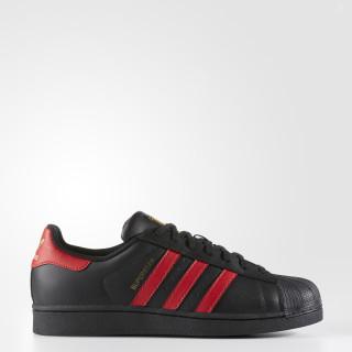 Superstar Shoes Core Black / Scarlet / Gold Metallic S80694