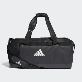 Convertible Training Duffel Bag Medium Black / Black / White DT4814
