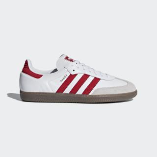 Samba OG Shoes Ftwr White / Scarlet / Crystal White B44628