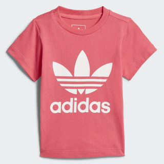 Camiseta Trifolio REAL PINK S18/WHITE CE4317